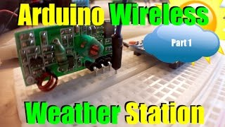 arduino wireless weather station part 1