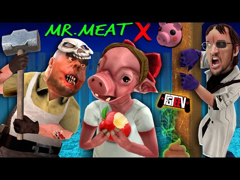 MR. MEAT trapped