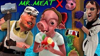 Download Lagu MR. MEAT trapped PIGGY?!?! (FGTeeV's Double Secret Ending Scientist Update) mp3