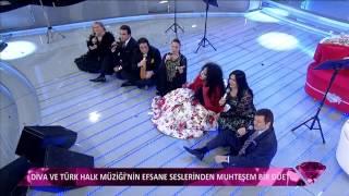Bülent Ersoy baygınlığının ardından programa devam etti / Diva bayıldı 2017 Video