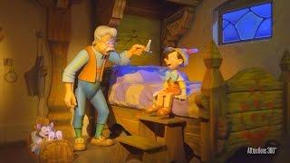 [4K] Tokyo Disneyland Pinocchio Ride - Pinocchio's Daring Journey