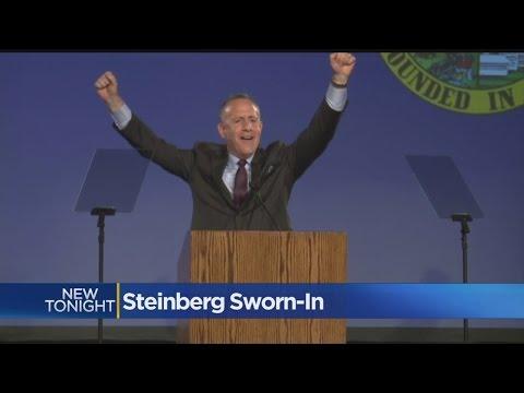 Darrell Steinberg Sworn-In As Sacramento's New Mayor