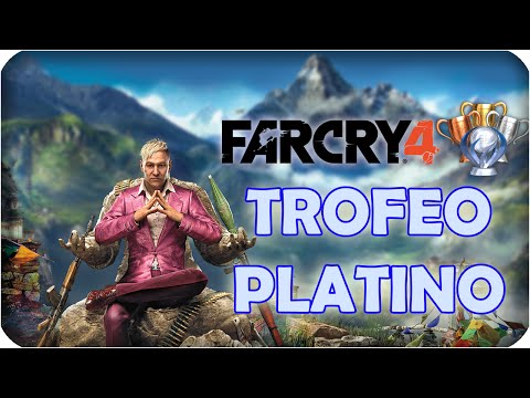 ¡¡TROFEO PLATINO FAR CRY 4!!