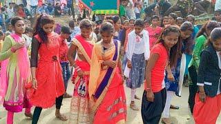 Aadivasi Girls Dance Dhol Vage Re  Village Video priyal johar