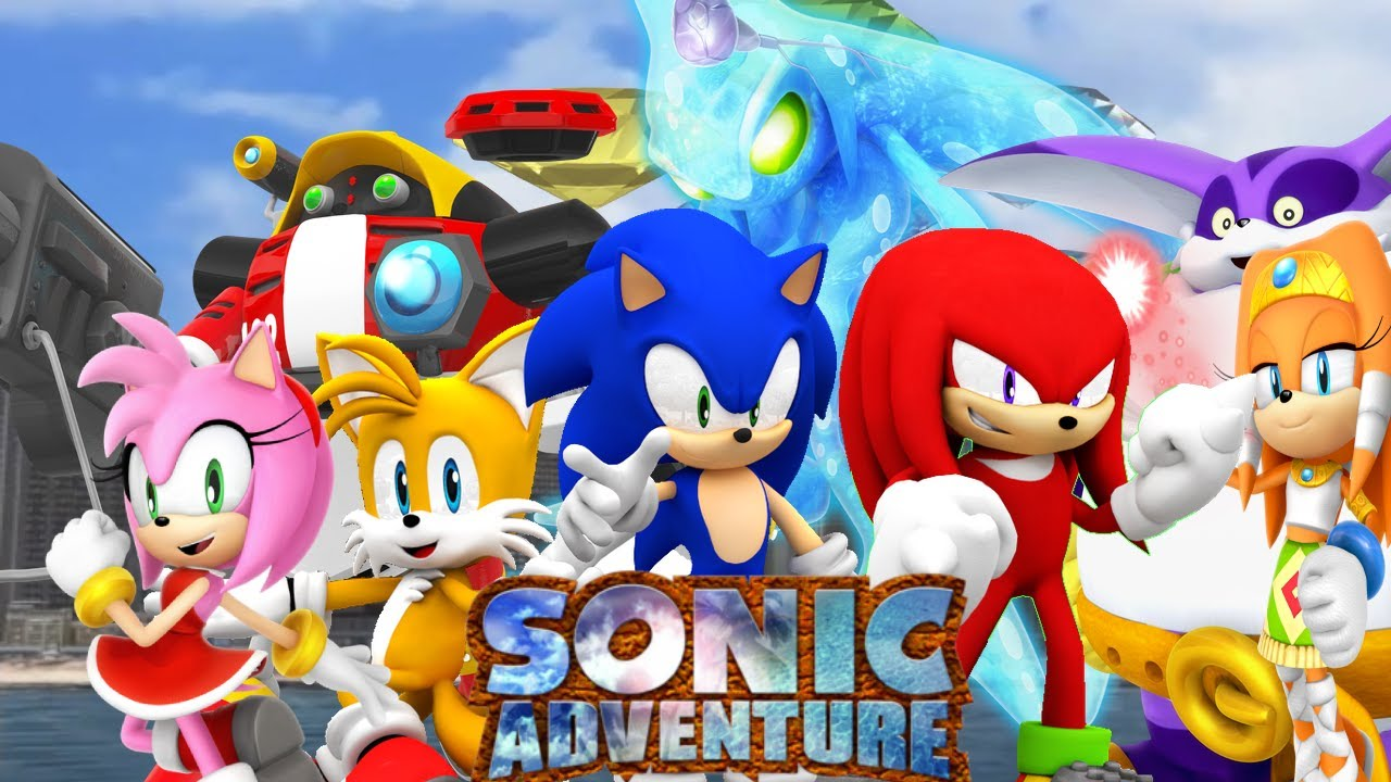 SONIC AND FRIENDS PLAY SONIC ADVENTURE