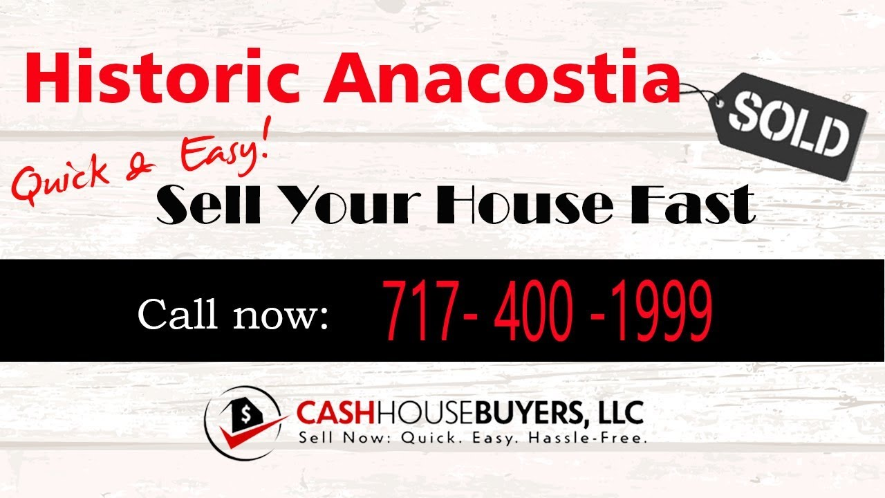 HOW IT WORKS We Buy Houses Historic Anacostia Washington DC | CALL 717 400 1999 | Sell Your House