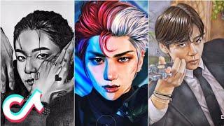 Amazing K-pop Fanart drawings | Tiktok💫