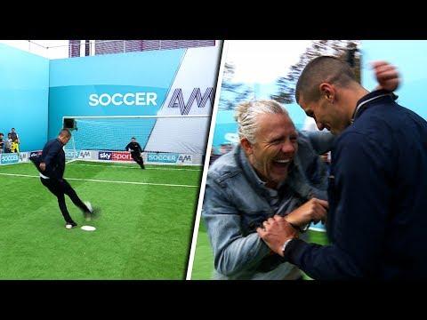 Conor Coady vs Jason Byrne   Penalties, volleys, free kicks & crossbar challenge   Soccer AM Pro Am