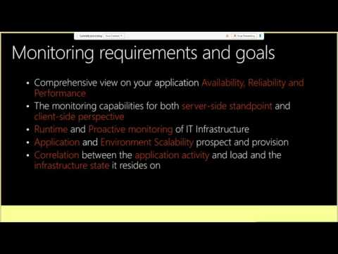 TechEd Europe 2013 Monitor Your Cloud Application Infrastructure on Windows Azure and Amazon EC2