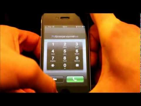 how to unlock iphone 4 without password iphone 4 ios 6 1 odblokowanie bez hasła unlock iphone 20438