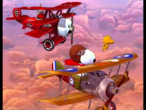 snoopy vs red baron christmas bells - Snoopy Christmas Song