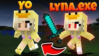 SI NO DUERMES, LYNA.EXE TE PERSIGUE EN MINECRAFT   Serie Anormal
