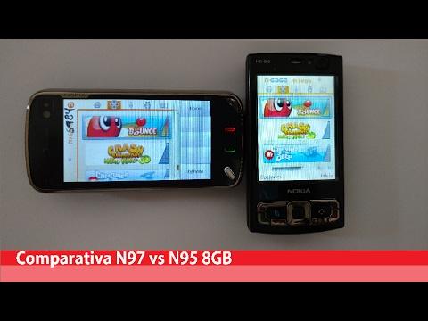 Nokia N95 8GB vs Nokia N97-(N-Gage, Bounce Touch)