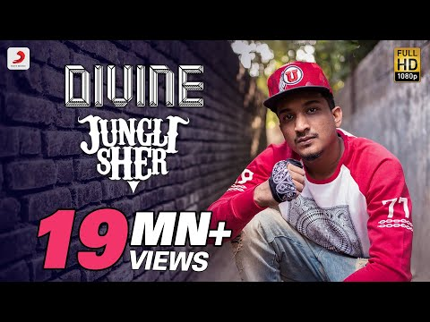 Jungli Sher - DIVINE - Official Music Video - With Lyrics & English Translation
