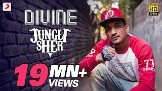 "Jungli Sher - DIVINE - Official Music Video - with Lyrics & English Translation(Click on CC button to select Lyrics and English Translation From the creator of the hit single ""Mere Gully Mein"" comes an anthem for the urban jungle – ""Jungli ..., 2016-03-25T04:00:13.000Z)"