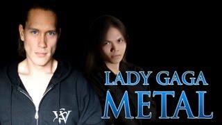 LADY GAGA - APPLAUSE (Metal Cover)