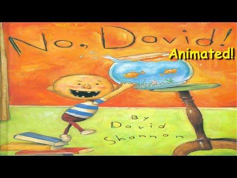 No, David! - Animated Children's Book