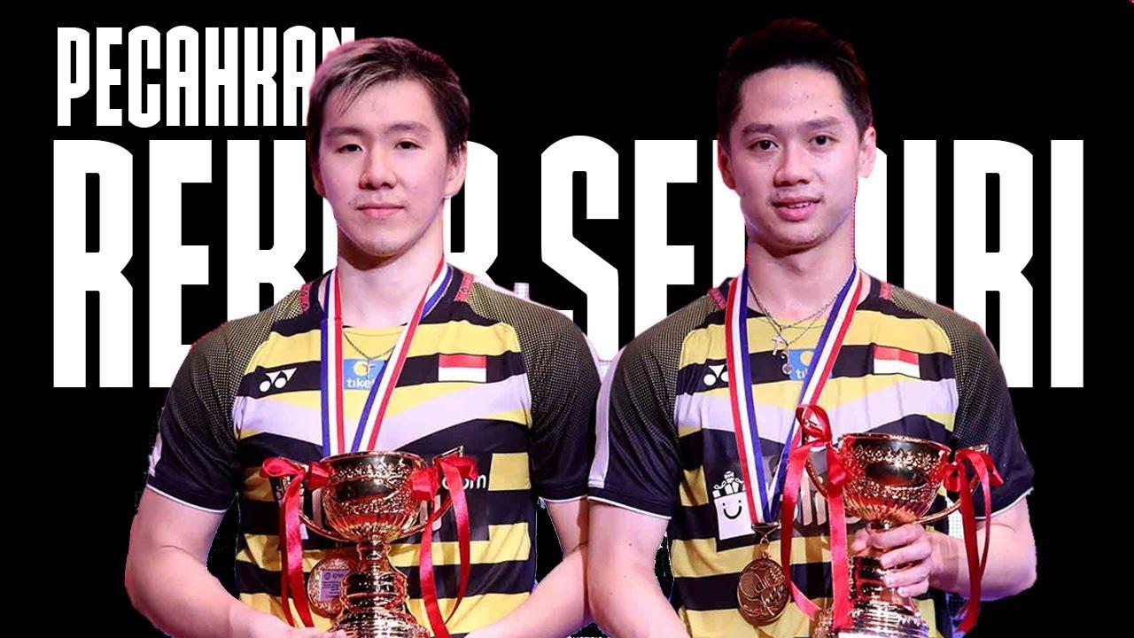 Download Juara Hongkong Open 2018, Kevin/Marcus Pecahkan Rekornya Sendiri