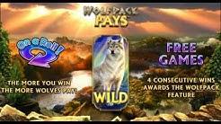WolfPack Pays Slot Machine Bonus Round Free Spins - Nextgen Gaming Slots