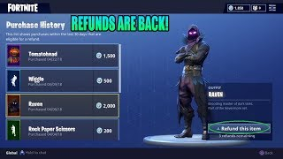 How To Get Refunds In Fortnite And Get Free VBucks For Your Items