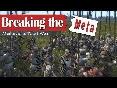 8 Crossbows - Breaking the Meta #2 (1v1 Medieval 2 Total War)