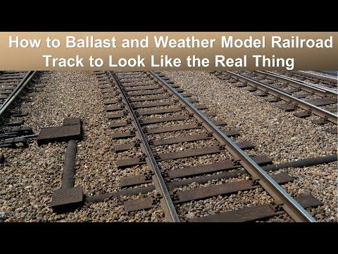 B.B.M.1930s: How To Ballast And Weather Track To Look Like The Real Thing (Weinert