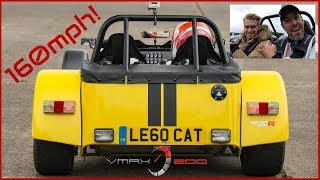 CRAZY 620R does 160mph at VMAX200 !! [Feat. Oli Webb]
