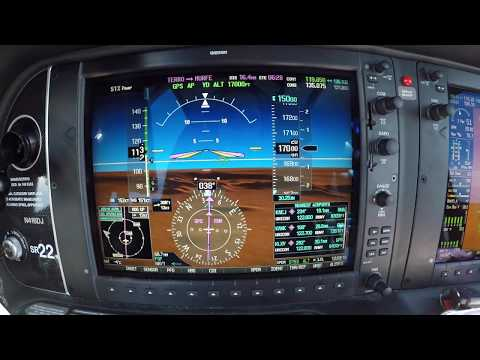 IFR Mountain Flying || Cirrus SR22 GTS