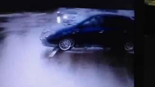 Авария на мокрой дороге