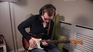 Blues Funk Improv #1 || Super Funky Blues Guitar Solo