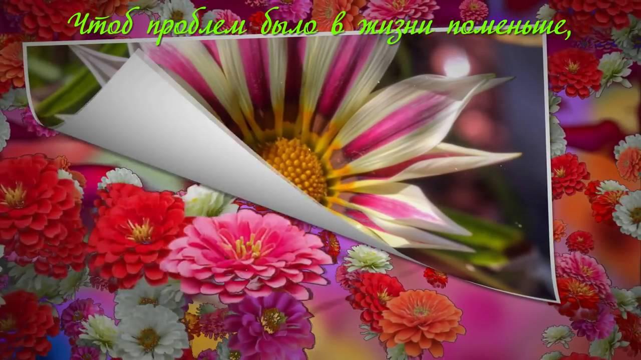 Цветы я хочу чтобы ты улыбалась
