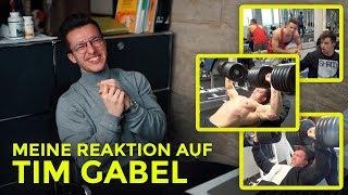 Meine Reaktion auf: Tim Gabel 160kg Bankdrücken | Trainingsanalyse