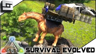 ARK: Survival Evolved - PARACERATHERIUM BUILDABLE SADDLE! S2E20 ( Gameplay )