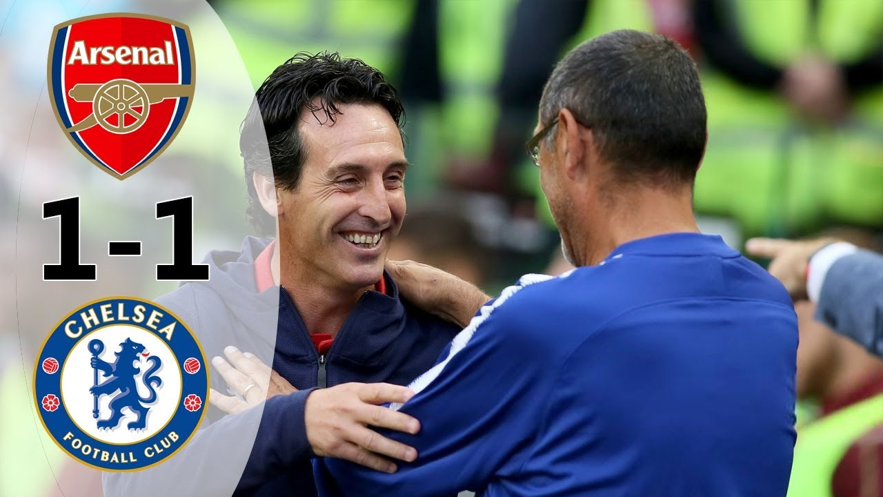Download Arsenal vs Chelsea 1-1 (6-5) All Goals & Extended Highlights 2018