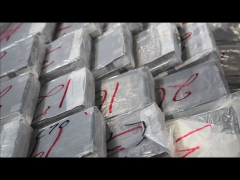 Largest ever cocaine bust in Toronto