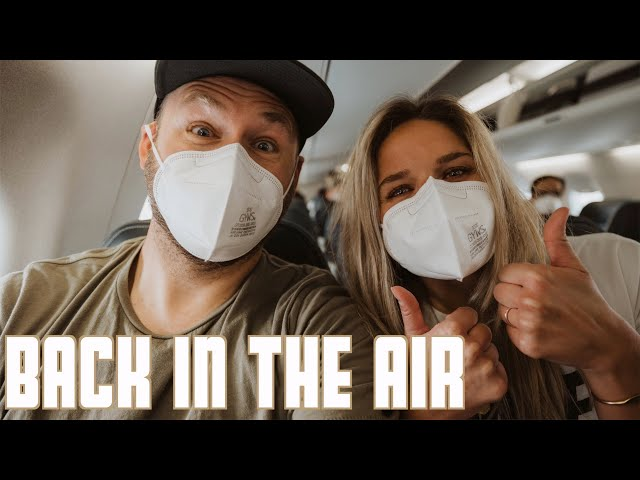 BACK UP IN THE AIR | FIRST TIME ON AIRPLANE SINCE PANDEMIC | TRAVEL FOR CHELLE'S BIRTHDAY