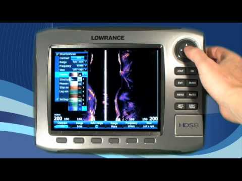 Lowrance Lessons - StructureScan™ Settings