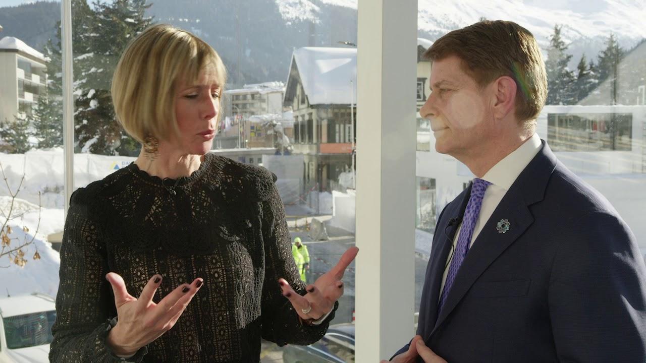 Hub Culture Davos 2019 - Robert C. Garrett, CEO of Hackensack Meridian Health