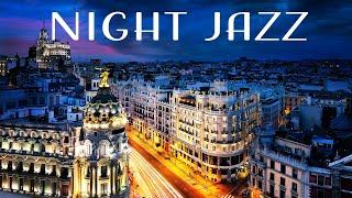 Night Plaza Jazz - Smooth Midnight Background Jazz: Elegant Instrumental Music