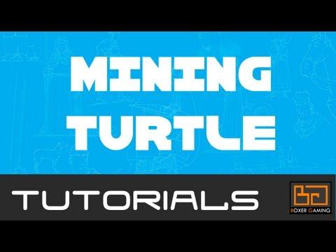 Tekkit ComputerCraft Tutorial: Mining Turtle [How To]