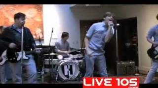 The Hives -Tick Tick Boom-  LIVE105.COM (studio session)