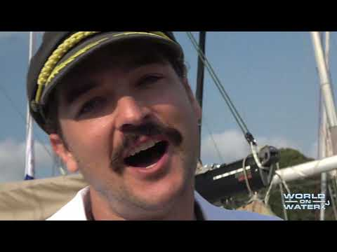 Riley Whitelum Sailing La Vagabonde, At The CYCA For The Rolex Sydney Hobart Yacht Race 2019