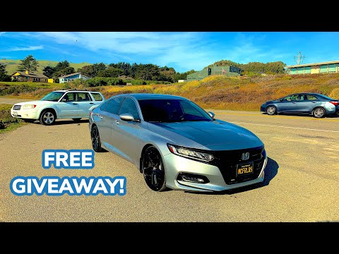 2018 2019 2020 Honda Accord owners - great giveaway 👍🏻