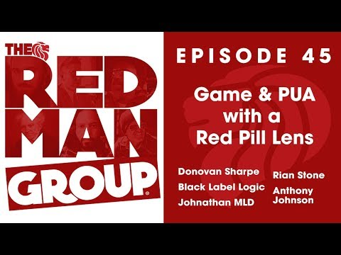 RMG #45 - Game and PUA with a Red Pill Lens