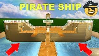 J'ai construit un SHIP PIRATE à Bloxburg! (Roblox)