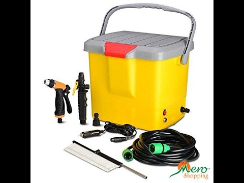 Portable Car Washer In Nepal Youtube