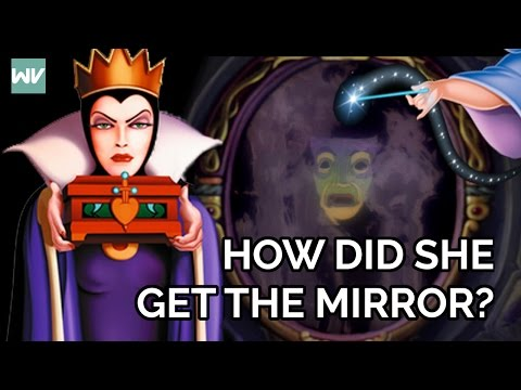 How The Evil Queen Got The Magic Mirror   Fairy Godmothers Part 2: Discovering Disney