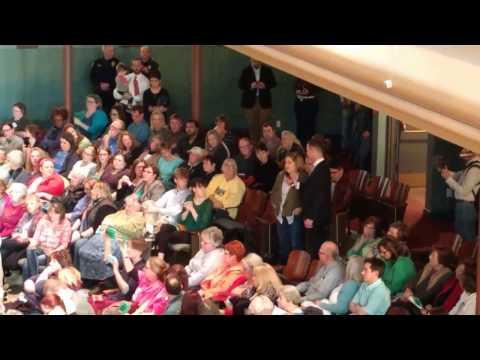 Senator Joni Ernst Townhall Meeting at Drake University 20170317 - Individual Mandate