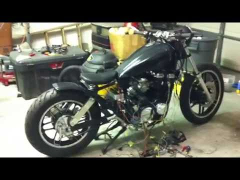 1983 CB650 Nighthawk Bobber project part 2 - YouTube