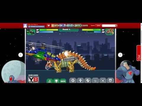 R.W.H. vs. Mecha Ankylosaur
